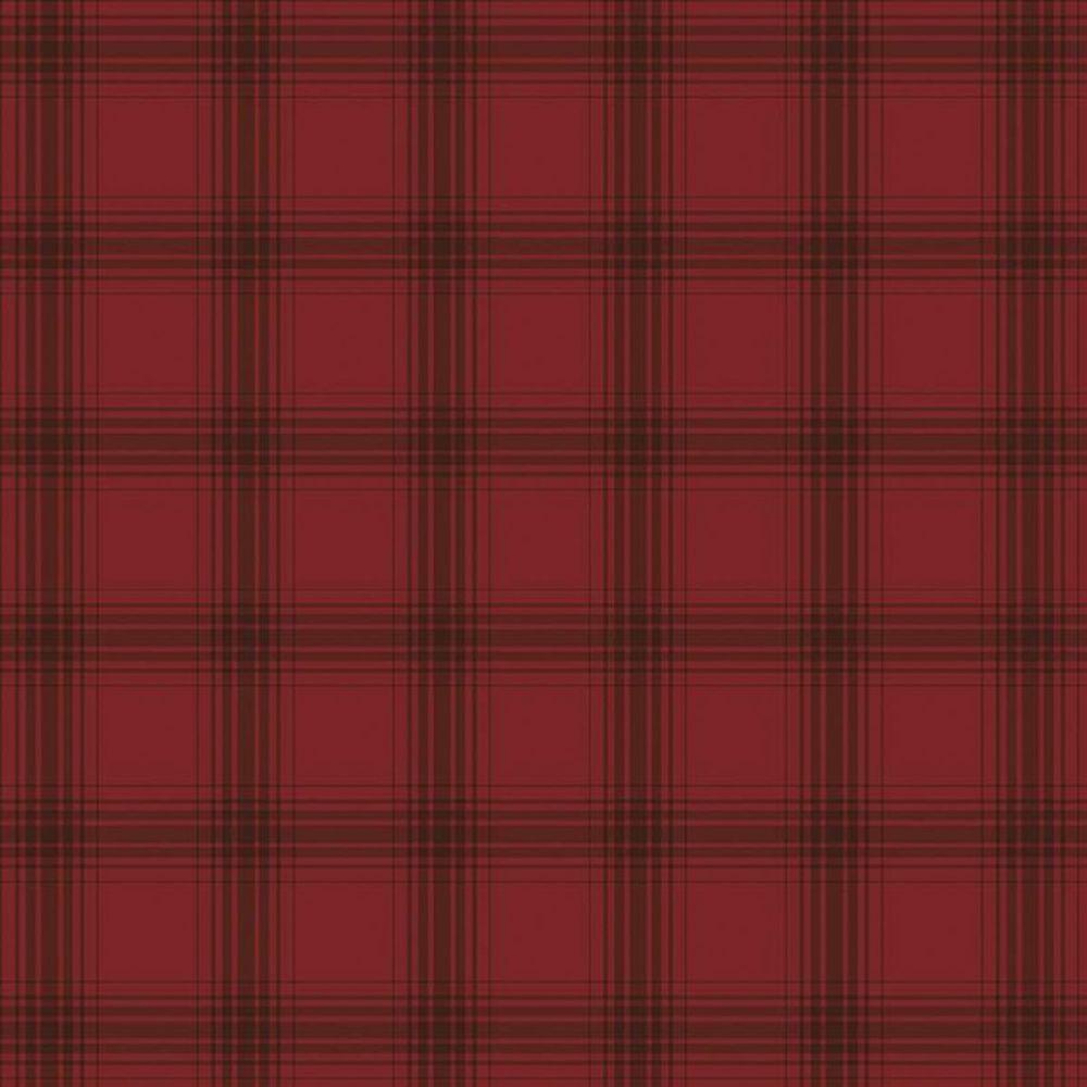 Riley Blake - Farmhouse Christmas 100% Cotton Fabric - Plaid Red