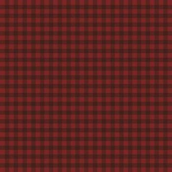 Riley Blake - Farmhouse Christmas 100% Cotton Fabric - Gingham Red