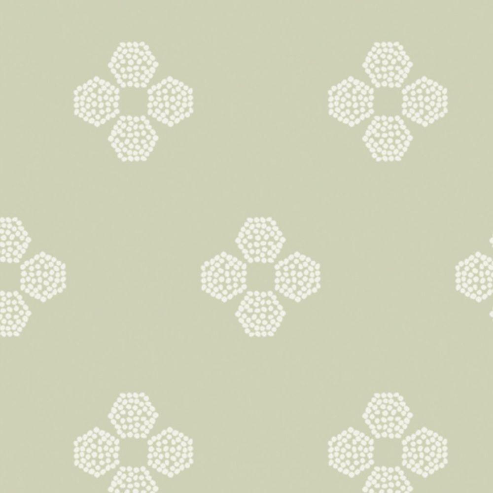 Art Gallery Fabrics - Vert Fusion 100% Cotton Fabric - Droplet Petal Vert