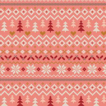 Art Gallery Fabrics - Cozy & Magical 100% Cotton Fabric - Warm & Cozy Candy