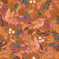 Dashwood Studios - Wild 100% Cotton Fabric - Hedgehog Woodland