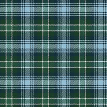 Clothworks - Yuletide 100% Cotton Fabric - Green Tartan Plaid