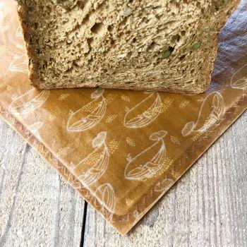 Bread Bag - Whale - Mustard