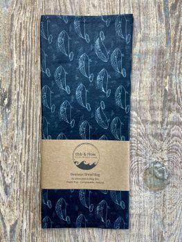 Bread Bag - Whale - Dark Grey
