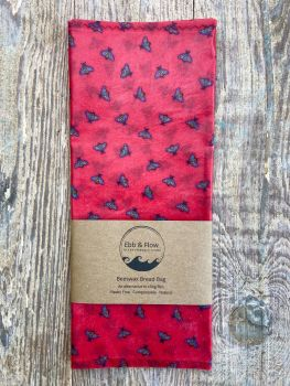 Bread Bag - Bee - Red