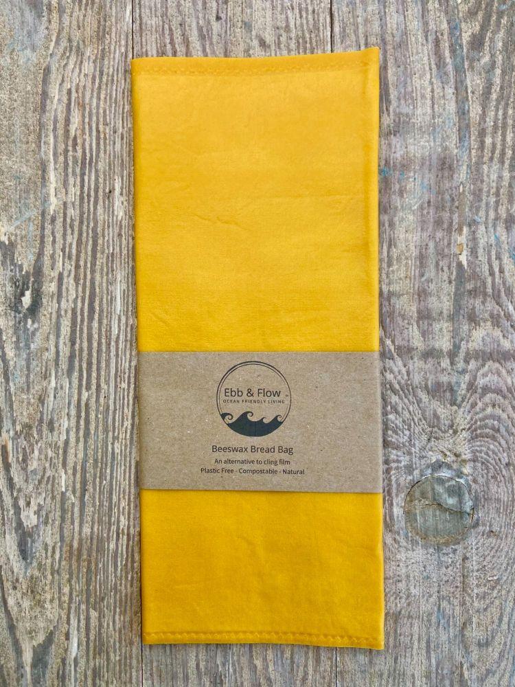 Bread Bag - Organic - Yellow
