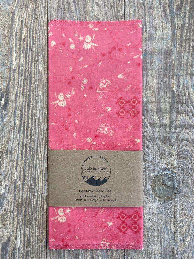 Bread Bag - Japanese Koi - Pink