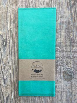Bread Bag - Organic - Turquoise