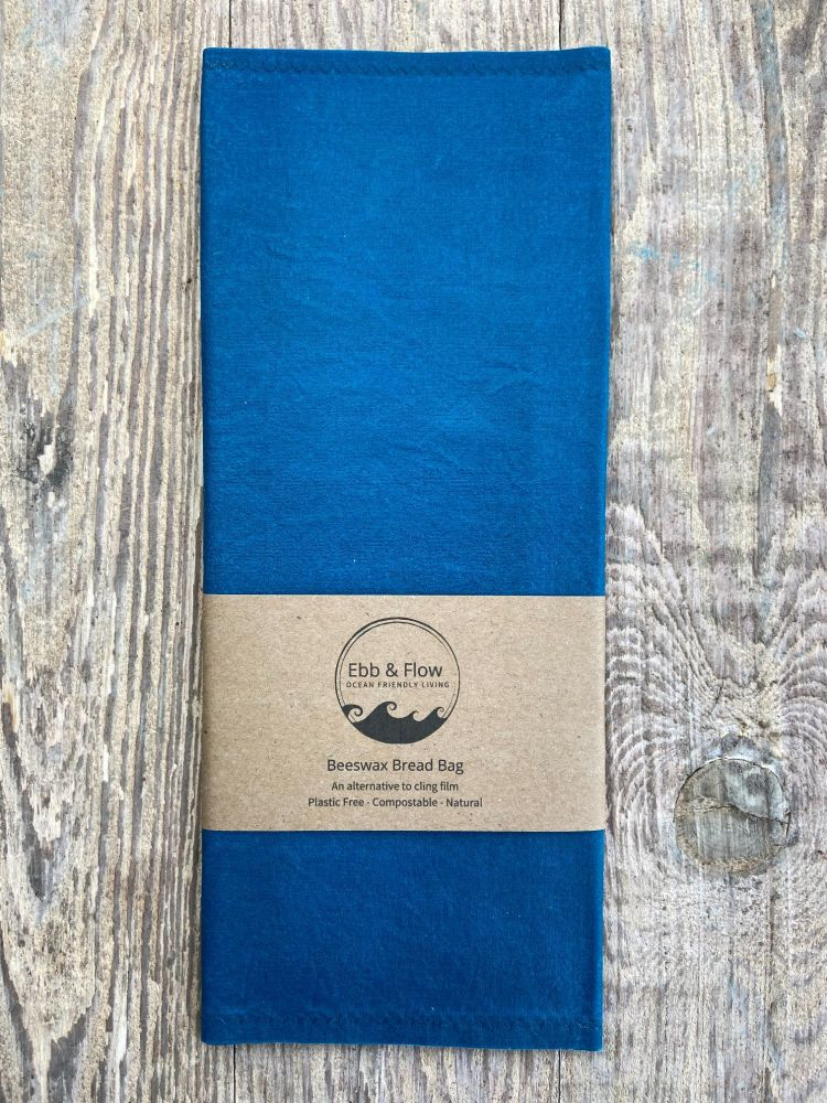 Bread Bag - Organic - Blue