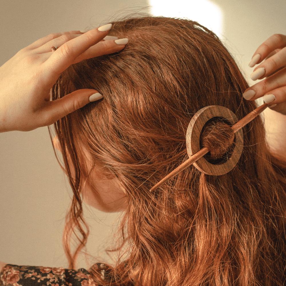 Wooden Hairpins