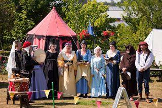 medieval re-enactors