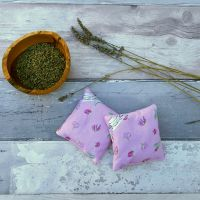 Somerset Bloom lavender bag