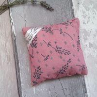 Dusky pink lavender bag