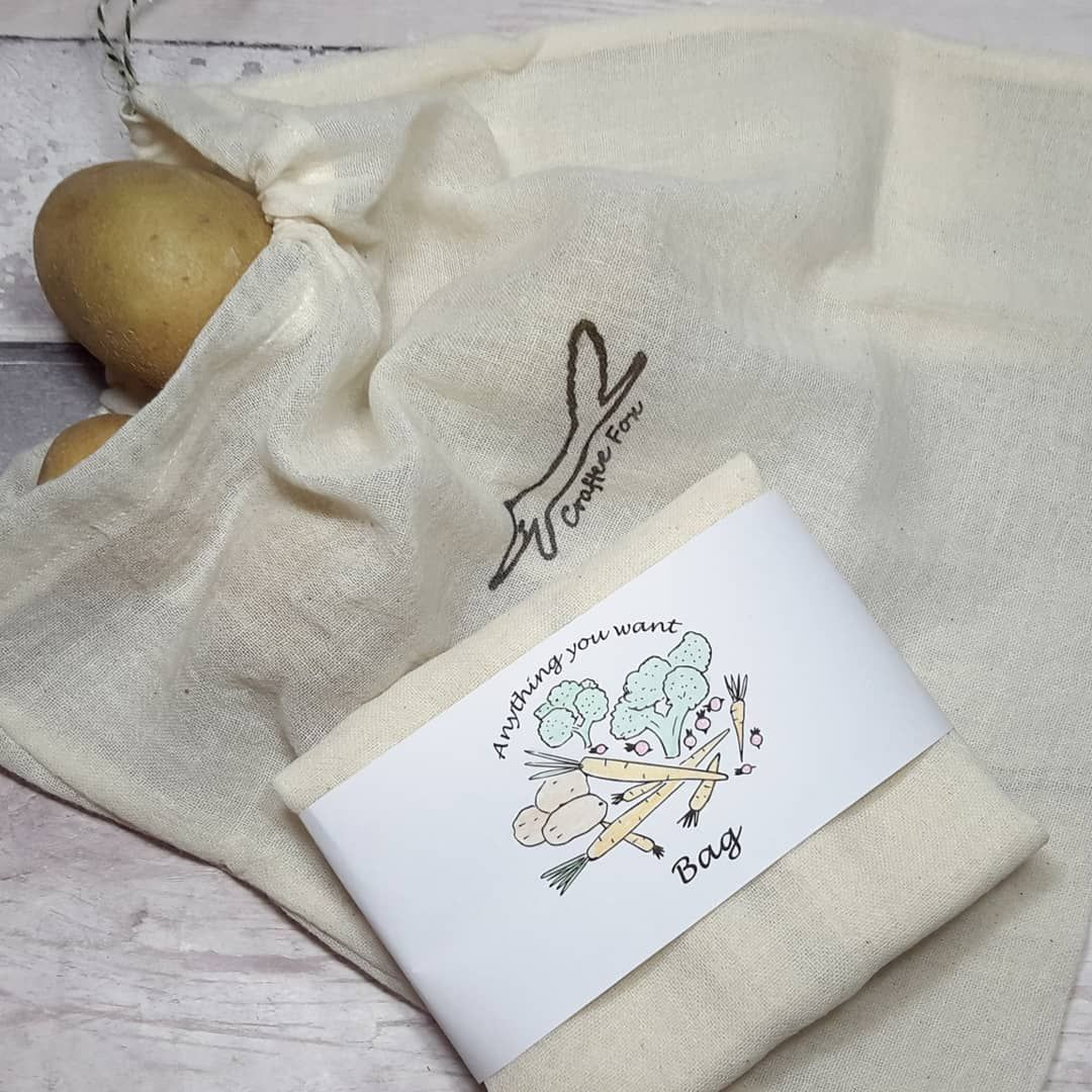 Anything you like medium organic cotton bag