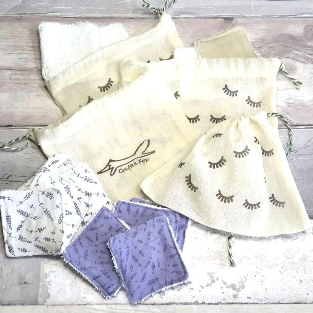 Reusable pads wash bag