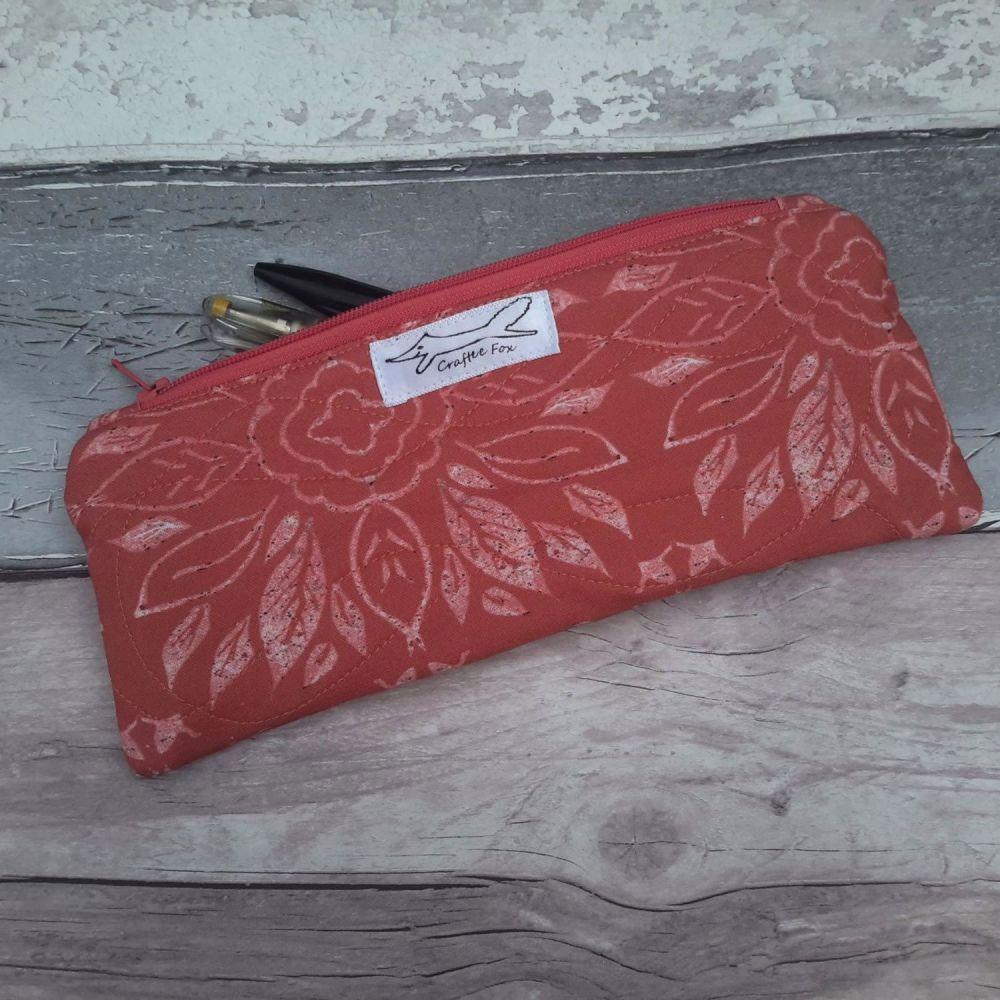 Terracotta Tile rectangle pouch