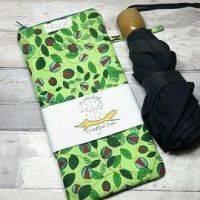 Green Vine Brolly Bag