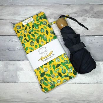 Yellow Vine Brolly Bag