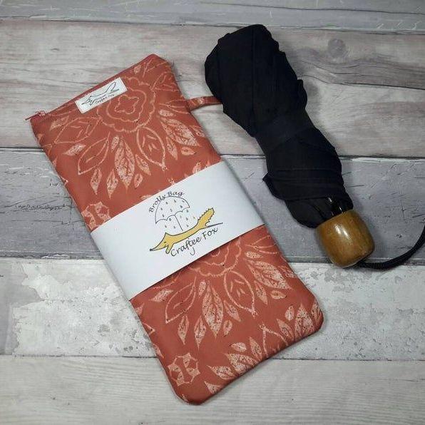 Terracotta Tile Brolly Bag