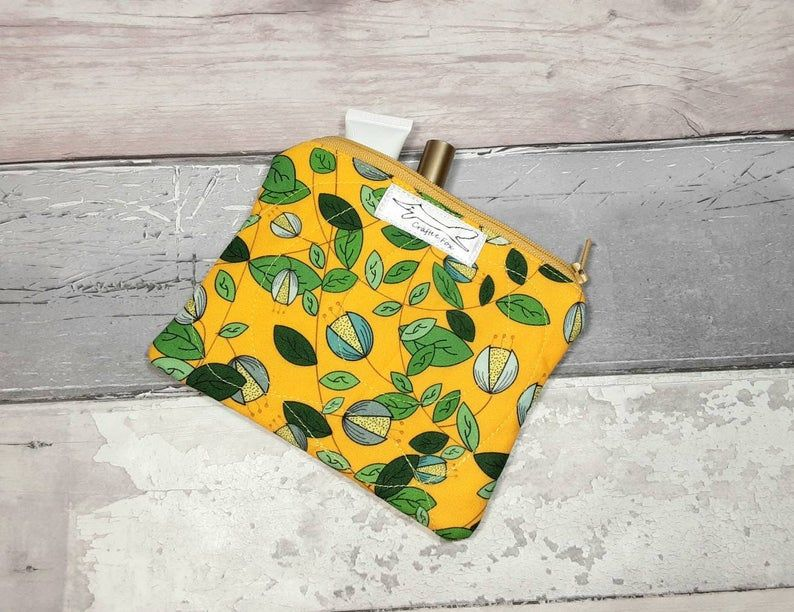 Green Vine small purse