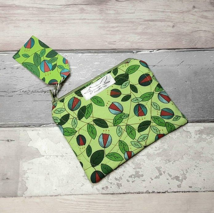 Green Vine small purse