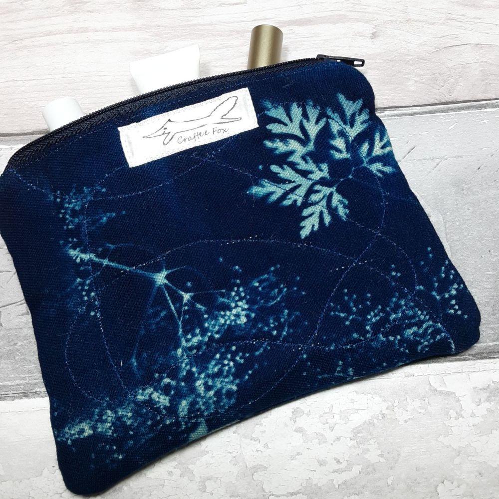 Cyanotype pouch