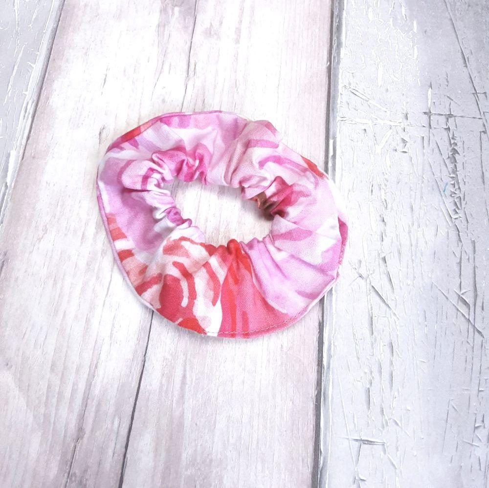 Pink 'Summer Bliss' scrunchie