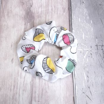 Mutlti coloured 'Doodle' scrunchie