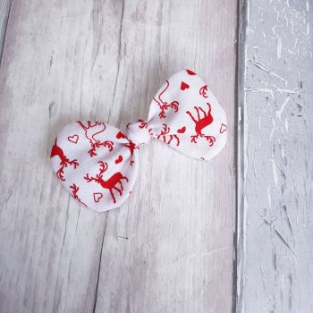 Christmas Scrunchie and hair bow set