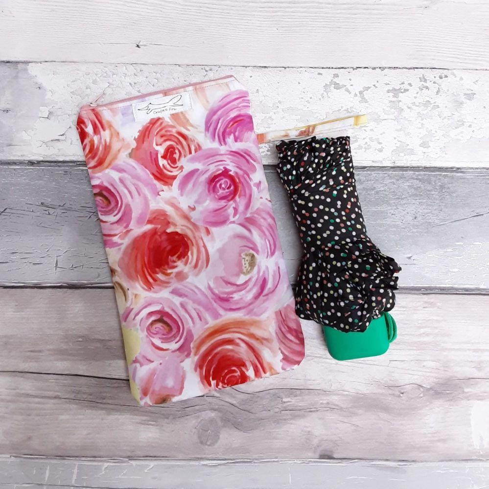 Floral brolly bag