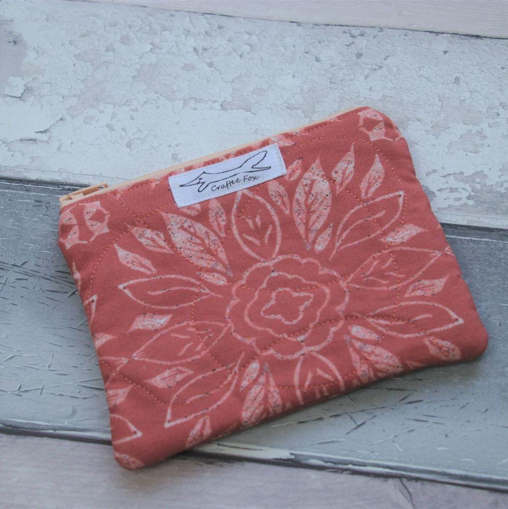 Terracotta tile purse