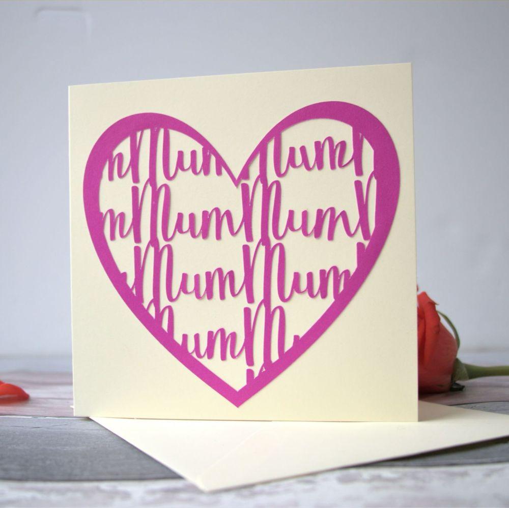 'Mum Mum' card