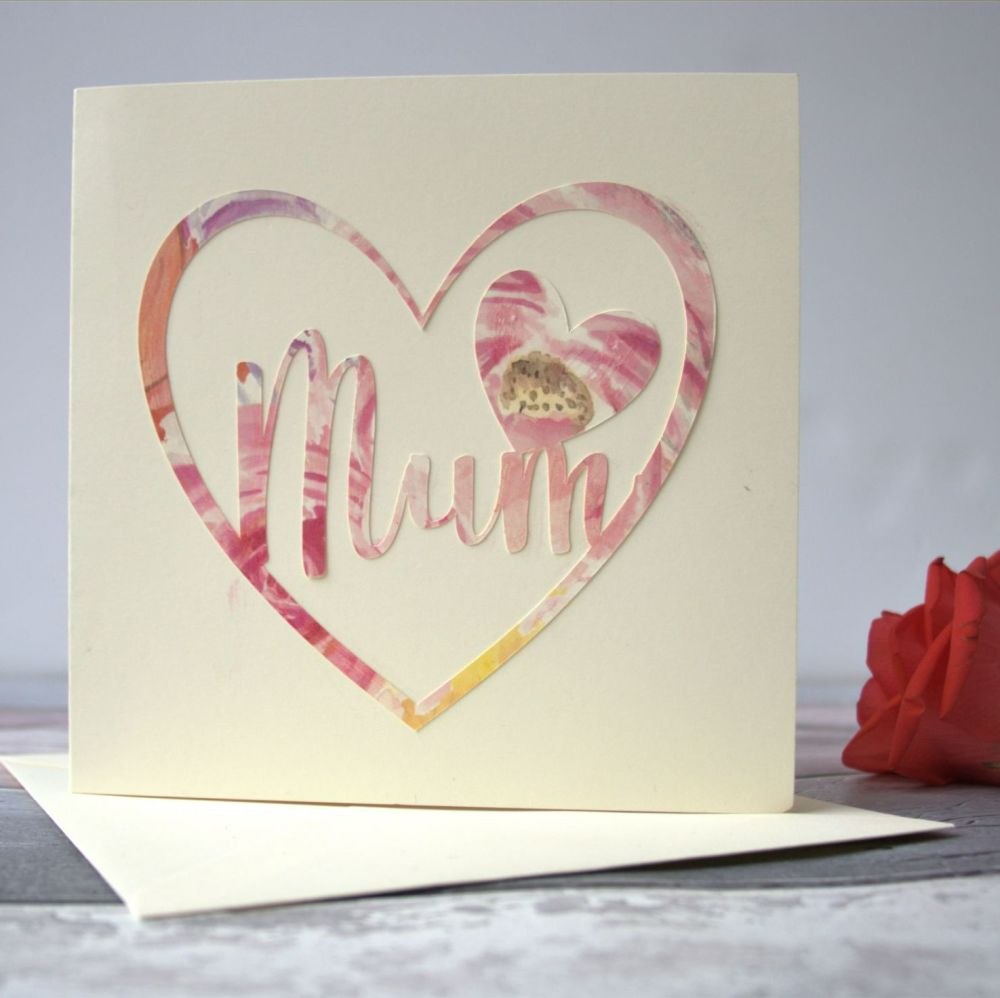 Floral 'Mum' Card