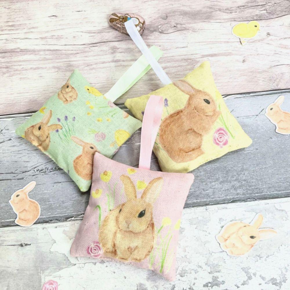 3 Rabbit lavender bags