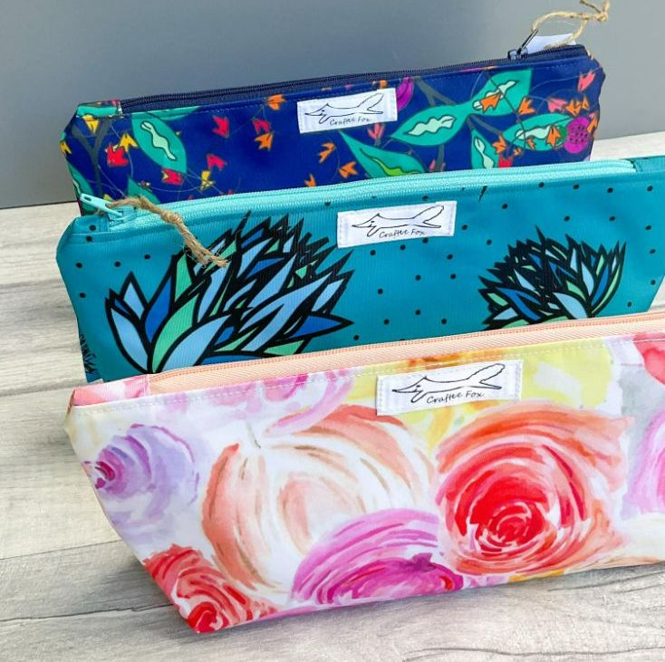 Large pouch and washbags
