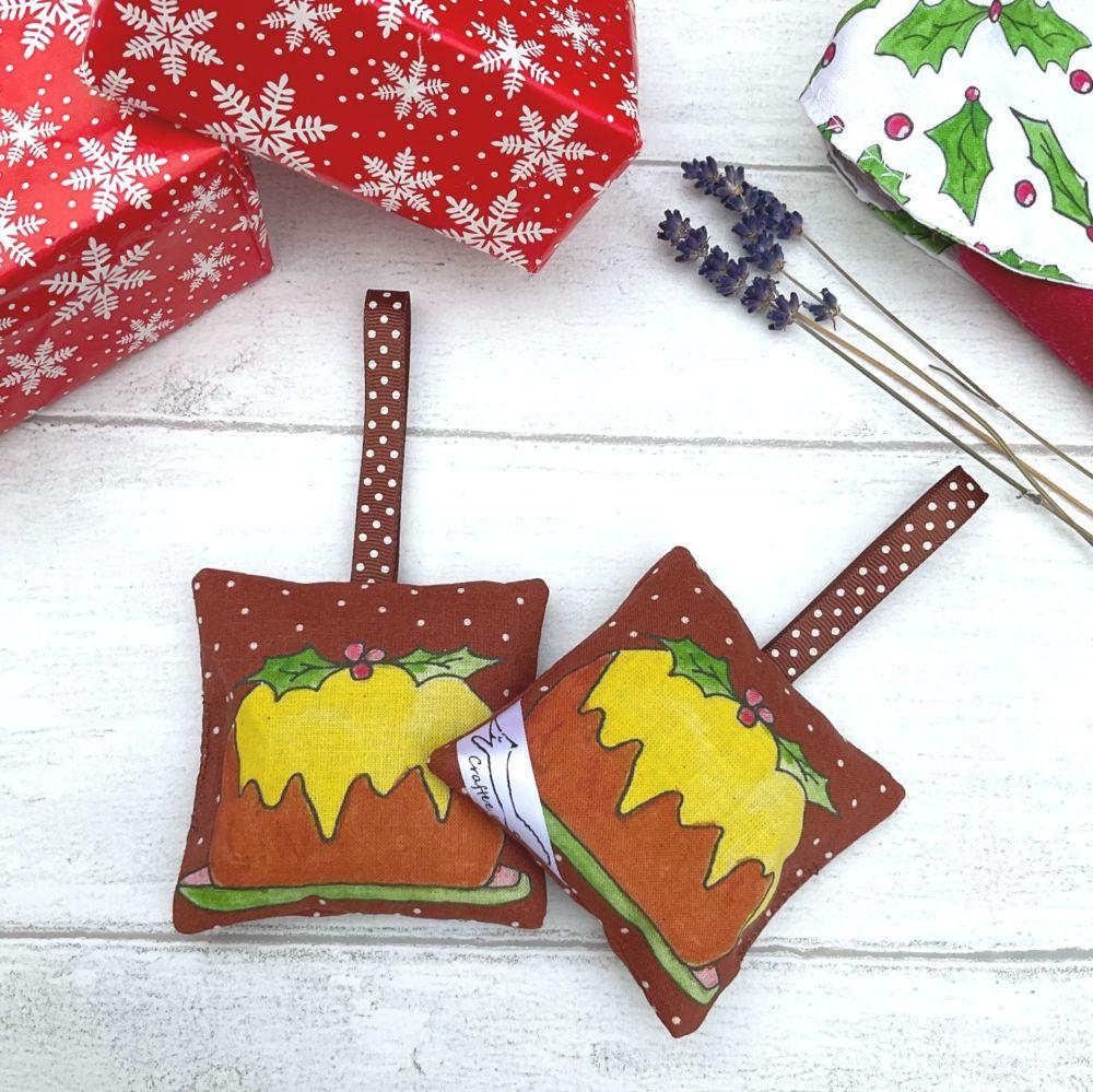 Christmas Pudding lavender bag