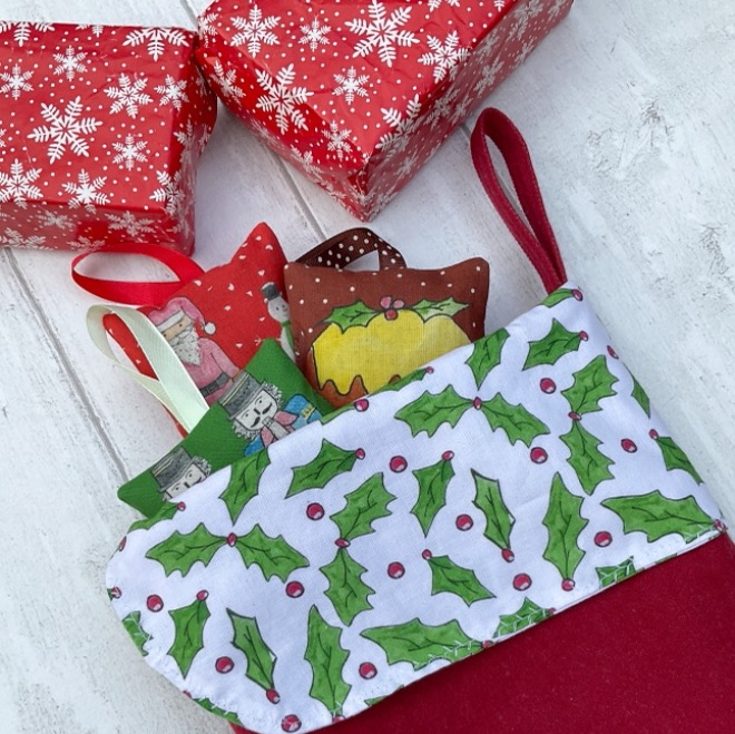 Christmas stockings, advent calendars and more
