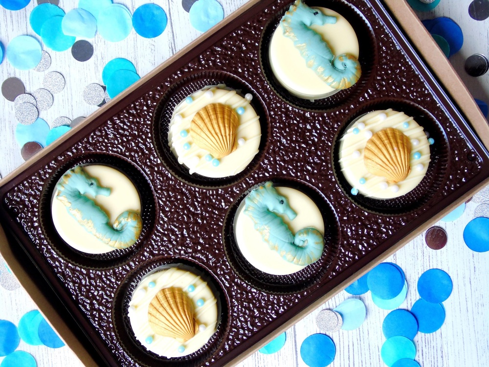 Seahorse chocolate covered Oreo's