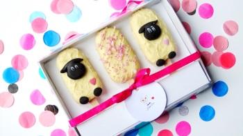 'I love Ewe' popsicles gift box