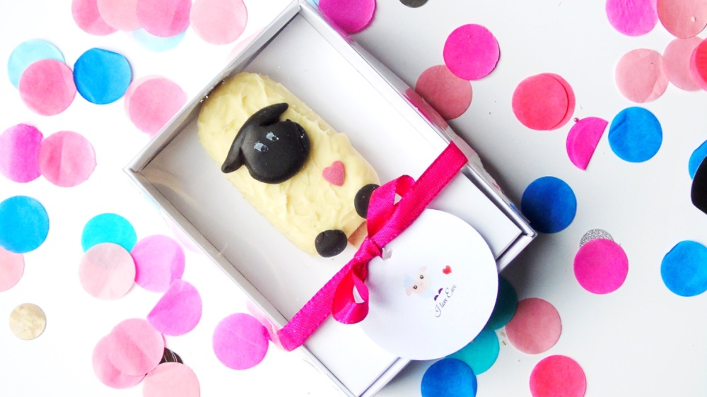 'I love ewe' single gift box popsicle