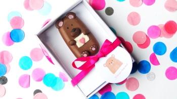 Brown bear popsicle