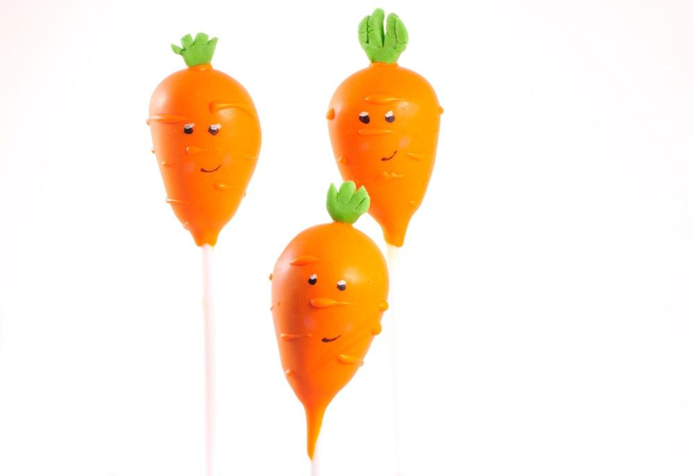 Carrot cake pops