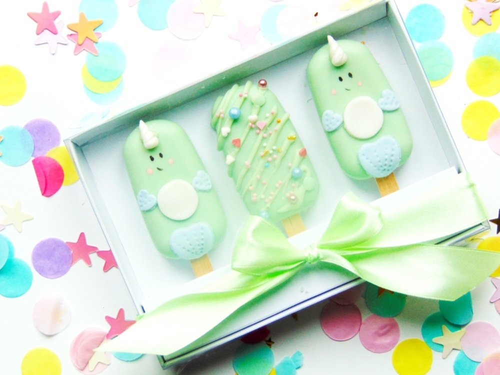 Narwhal popsicle gift set