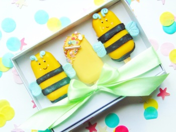 Bee popsicle gift set