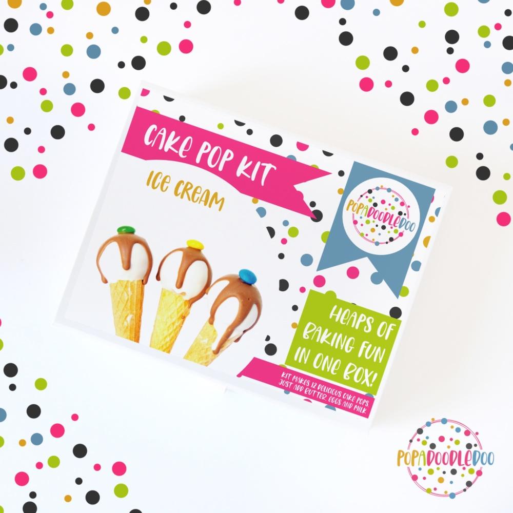 Ice cream cake pop kit