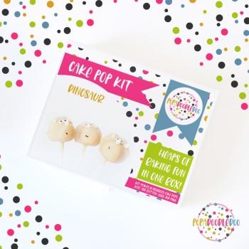 Dinosaur Cake pop kit
