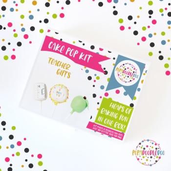 Teachers cake pop kit