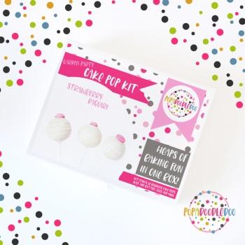 Strawberry daiquiri cake pop kit