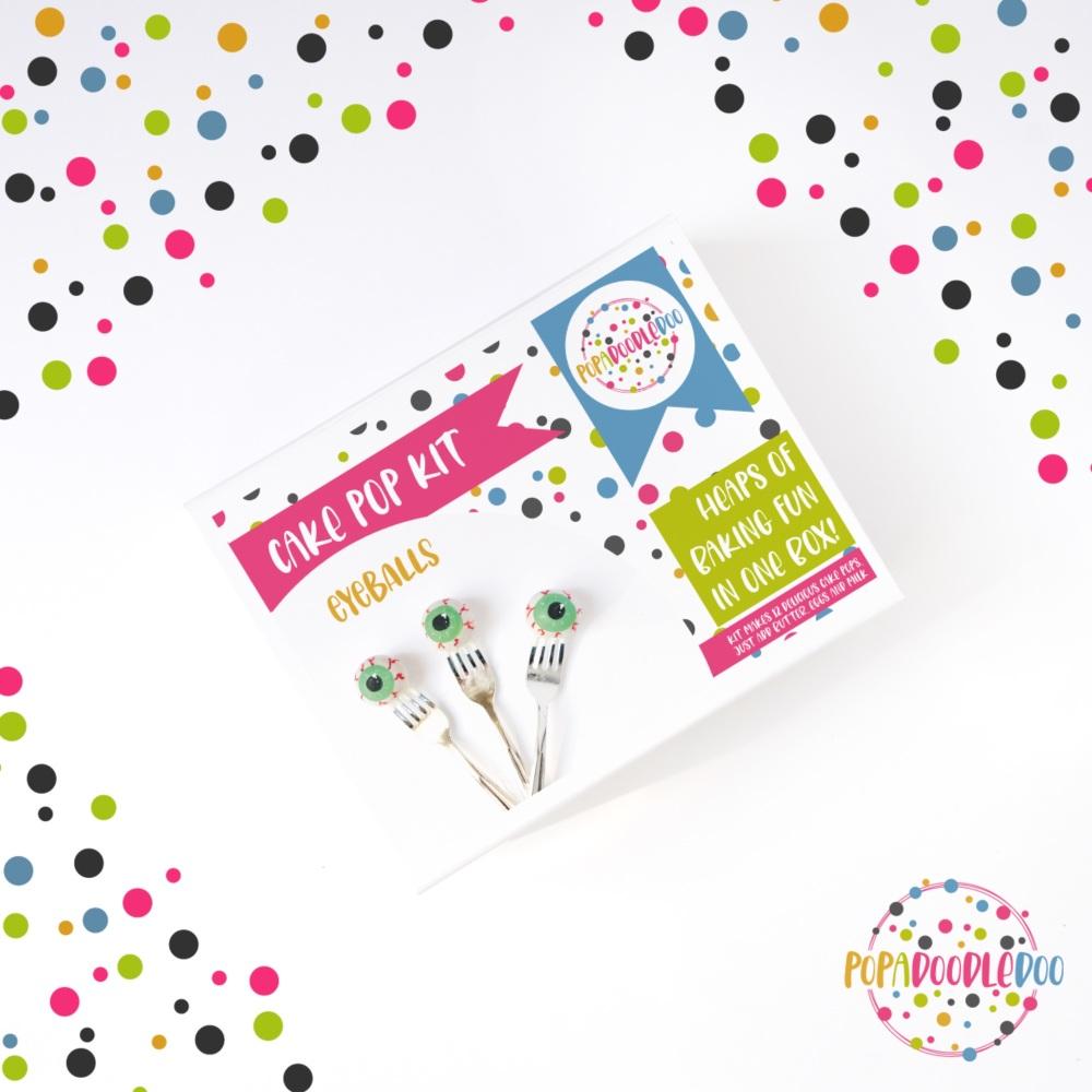 Eyeball Cake pop kit