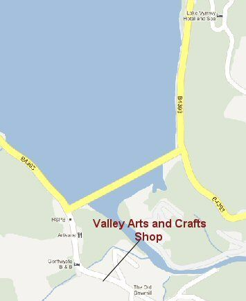 map of the shop